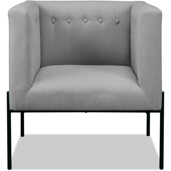 Fauteuil 13441GR - ESSEX Gris - Lot de 1