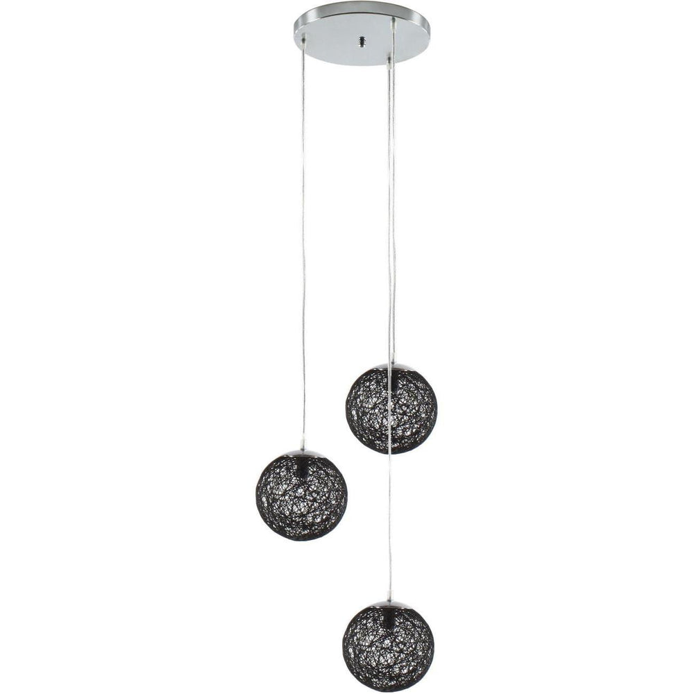 Suspension 3253NO - BALLI Noir - Lot de 1