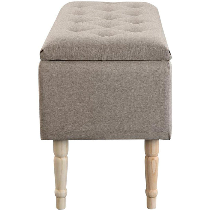 Banc Coffre 13830BE - EMILIE Beige - Lot de 1