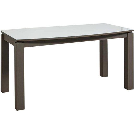 Table de repas 10731BT - ARROWS Blanc & Marron - Lot de 1