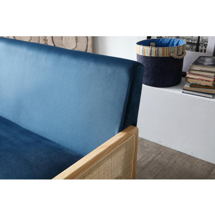 Canapes 13834BU - ARCHI Bleu - Lot de 1