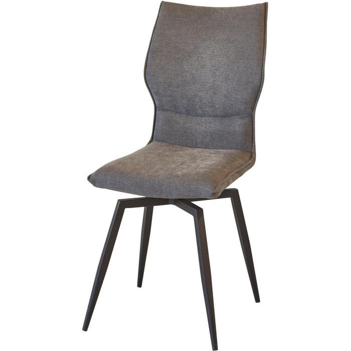 Chaise 55126GA - Rany Gris anthracite - lot de 4
