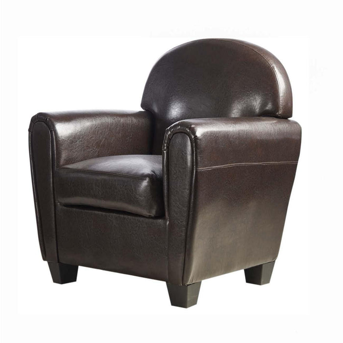 Fauteuil 24210CH - JUNE Marron - Lot de 1