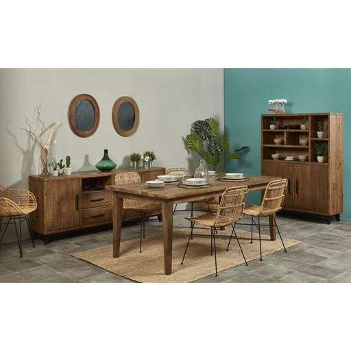 Vitrine 19183PI - PATIO Marron - Lot de 1
