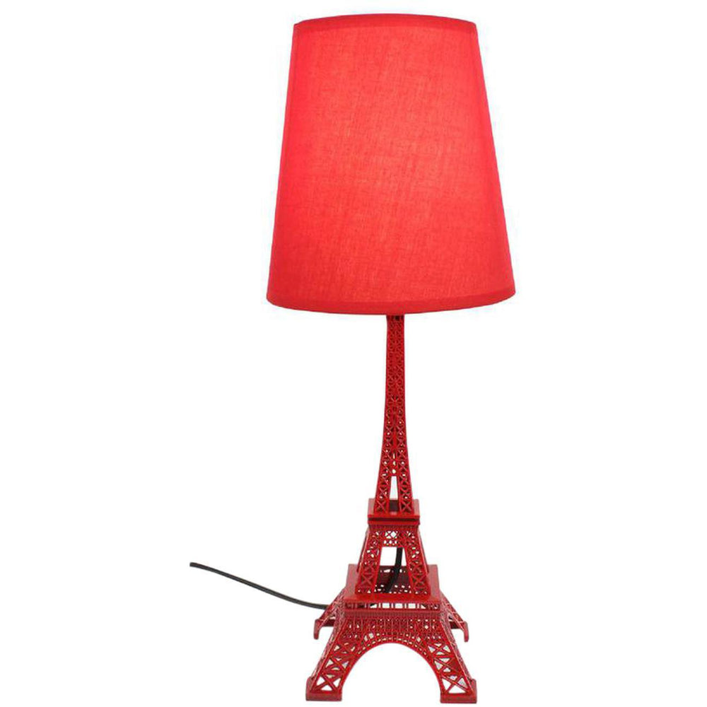 Lampe 26817RO - EIFFEL Rouge - Lot de 8