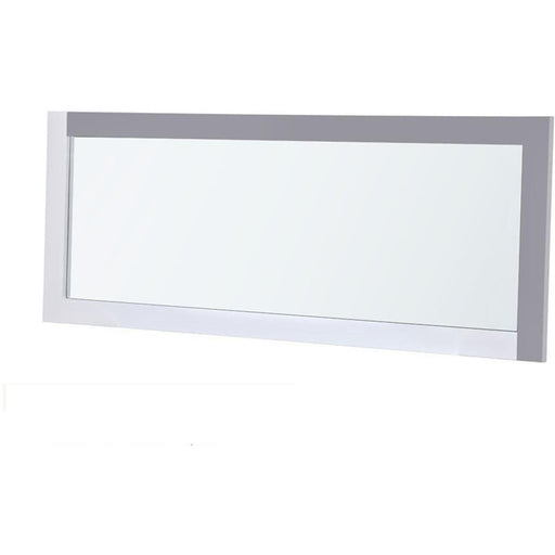 Deco miroir 10137GB - PLYMOUTH Gris - Lot de 1