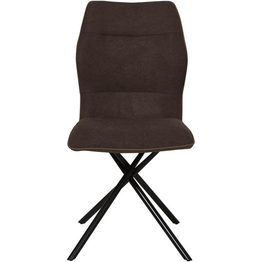 Chaise 50326MA - MIKADO Marron - Lot de 2