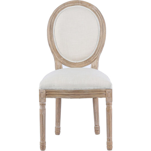 Chaise 65820NA - MEDAILLON Beige - Lot de 2