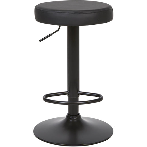 Tabouret de bar 22631NO - BARISTA Noir - Lot de 4