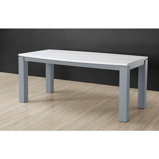 Table de repas 10652GR - OCEANIA Gris & Blanc - Lot de 1