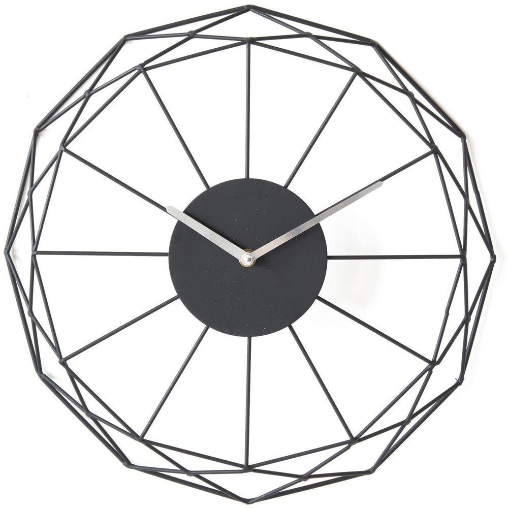 Deco horloge 67234NO - Ben Noir - Lot de 1