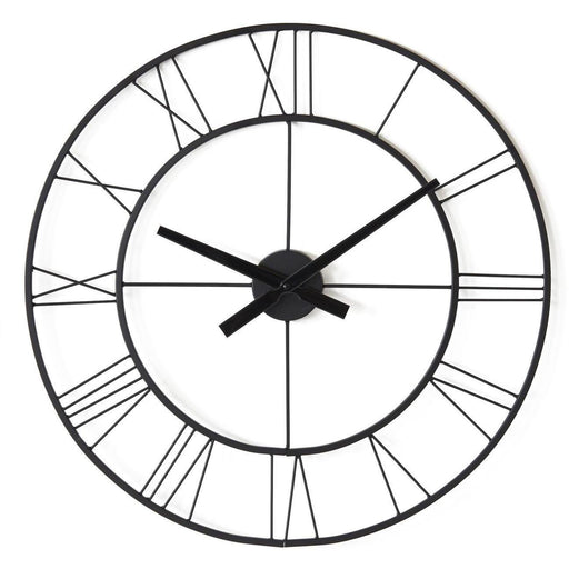 Deco horloge 67233NO - Charles Noir - Lot de 1