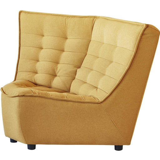 Chaise 11698JA - Columbo Corner Jaune Moutarde