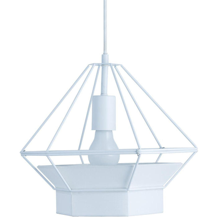 Suspension 26623BL - CAGE Blanc - Lot de 1