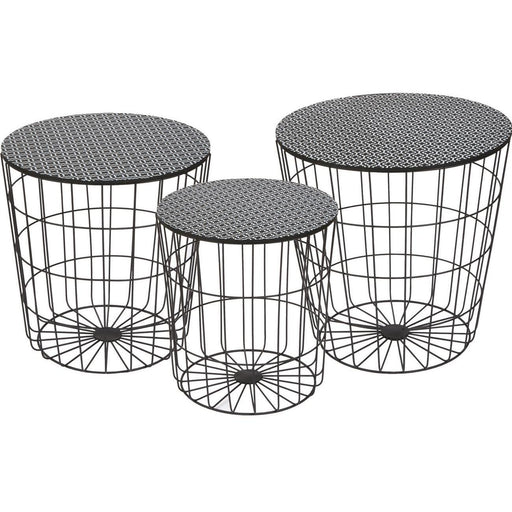 Table d'appoint 67050NO - AUSTRAL Noir - Lot de 1