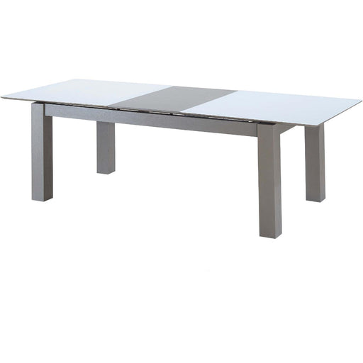 Table de repas 10451TB - VISION Blanc & Taupe - Lot de 1