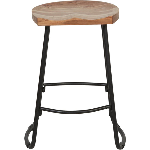Tabouret de bar 29761NA - Varana Marron - Lot de 1
