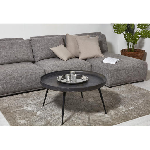 Table basse 29738GR - MUMBAI Gris - Lot de 1