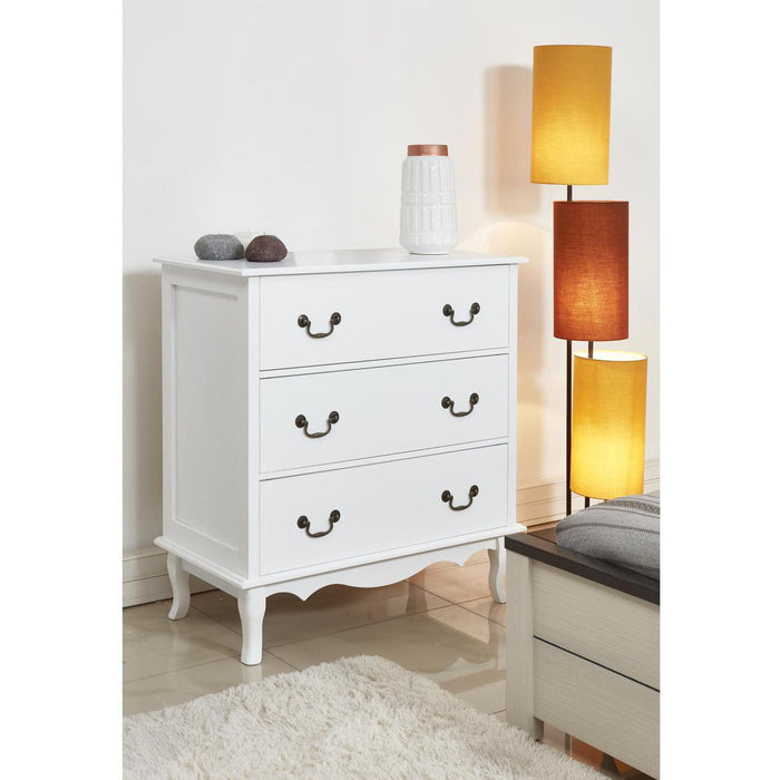 Commode 60180BL - MANILLE Blanc - Lot de 1