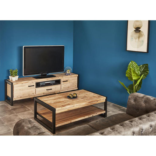 19126BS - Furnitures Zara Wood & Black