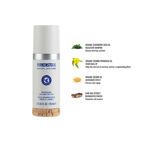 Birkenstock Natural Skin Care Nourishing Foot and Leg Oil