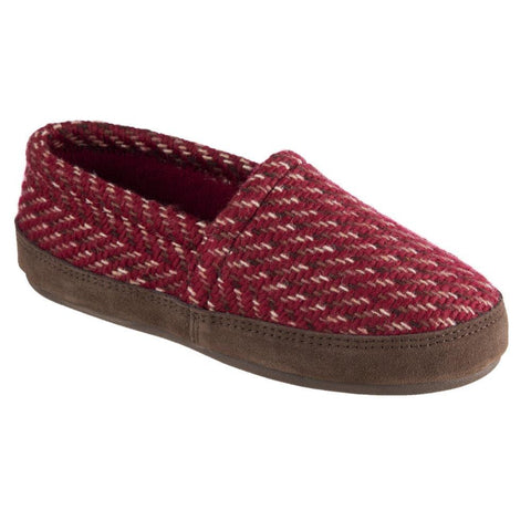 Women's Woven Tweed Moccasins