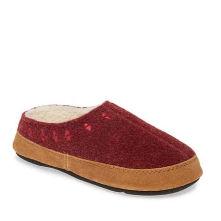 Women's Geo Embroidered Hoodback Slipper