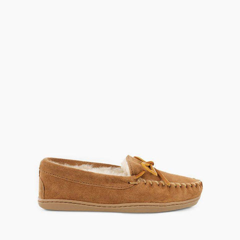 Women's Sheepskin Hardsole Moccasin