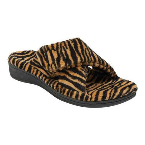 Indulge Relax Animal Print Terry Cloth