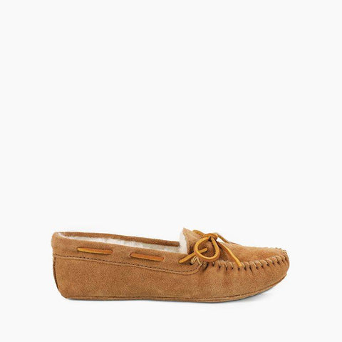 Men's Sheepskin Softsole Moccasin