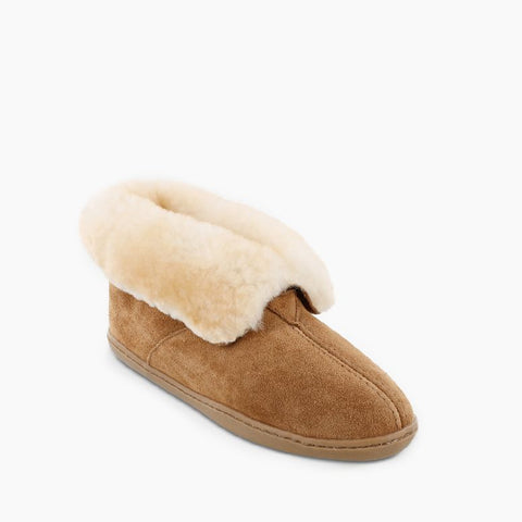 Women's Sheepskin Ankle Moccasin Boot