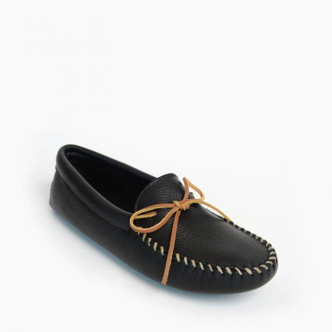 Double Deerskin Softsole Moccasin
