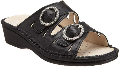 Amalfi Two Strap Slide CLOSEOUT
