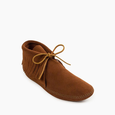 Men's Classic Fringe Softsole Moccasin Boot