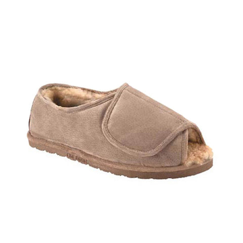 Men's Hook and Loop Step-in Slipper
