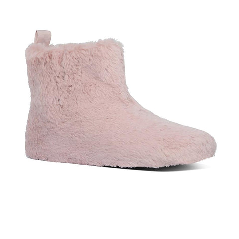 Furry Slipper Bootie CLOSEOUT