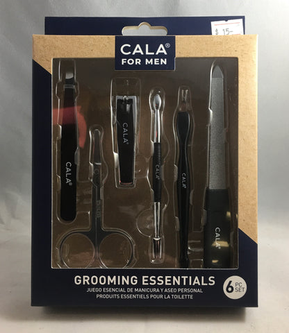 "Cala ""Grooming Essentials for Men"" Nail Kit"