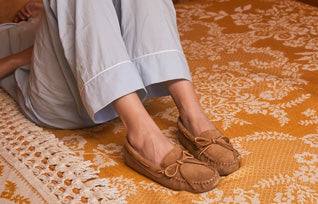 Women's Sheepskin Softsole Moccasin