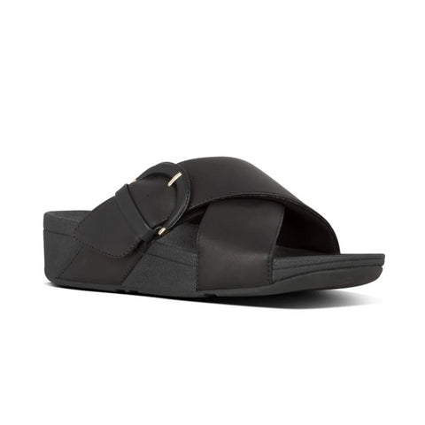 Lulu Buckle Slides