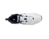 Men's Trainers 624 White with Navy V2