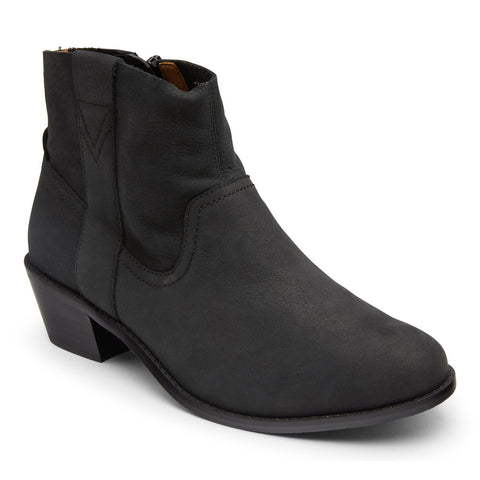 Roselyn Nubuck Western Ankle Boot