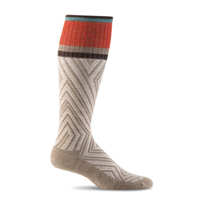 Labyrinth Moderate Graduated Compression Socks