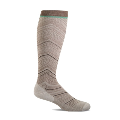 Full Flattery Wide Calf Fit - Moderate Graduated Compression Socks