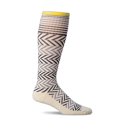Chevron Moderate Graduated Compression Socks