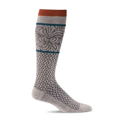 Art Deco Moderate Graduated Compression Socks