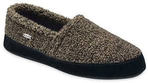 Men's Tex/Polar Moccasin Slipper