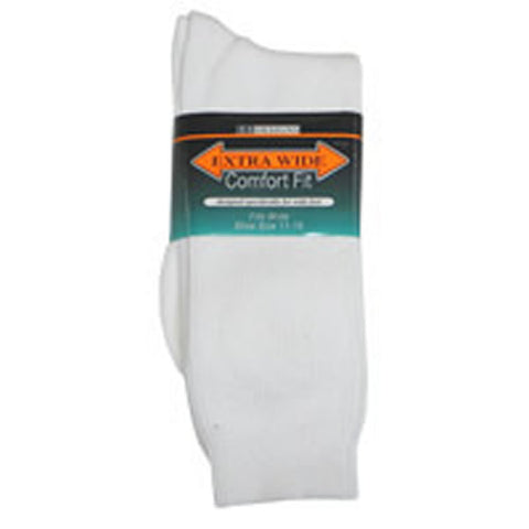 Extra Wide Sock Co. Athletic Crew Socks