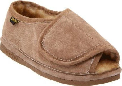 Ladies Hook and Loop Step-In Slipper