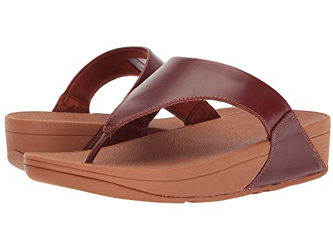 Lulu Leather Toe Post CLOSEOUT Sandal