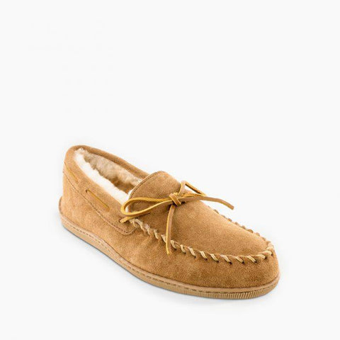 Men's Sheepskin Hardsole Moccasin